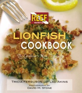 REEF lionfish cookbook and lionfish recipes